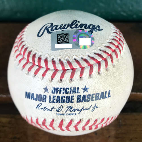 Cardinals Authentics: Game Used Baseball Pitched by Michael Wacha to Nolan Arenado *Single*