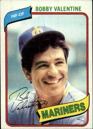 Photo of 1980 Topps #56 Bobby Valentine