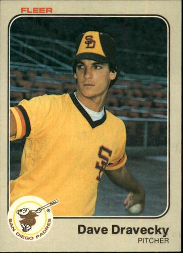 Photo of 1983 Fleer #356 Dave Dravecky RC
