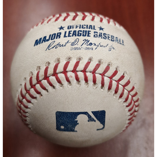 Photo of 2020 Toronto Blue Jays Game-Used Baseball (June) - PRESALE: Choose your Game Date!