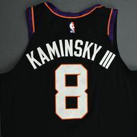 Frank Kaminsky - Phoenix Suns - NBA Mexico Games - Game-Worn City Edition Jersey - Scored 22 Points - 2019-20 NBA Season