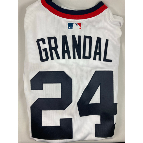 Photo of Yasmani Grandal Team Issued 2020 Throwback Jersey