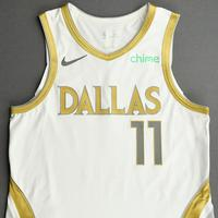 Tim Hardaway Jr. - Dallas Mavericks - Game-Worn - City Edition Jersey - 2020-21 NBA Season
