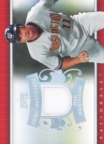 Photo of 2007 Upper Deck UD Game Materials #RZ Ryan Zimmerman Jsy S1
