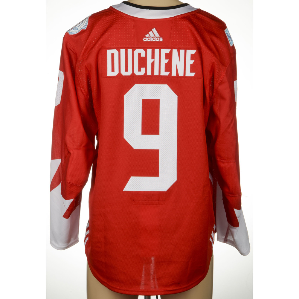 Matt Duchene Colorado Avalanche Game-Worn 2016 World Cup of Hockey Team Canada Jersey, Worn In Semifinal Game Against Team Russia On September 24th