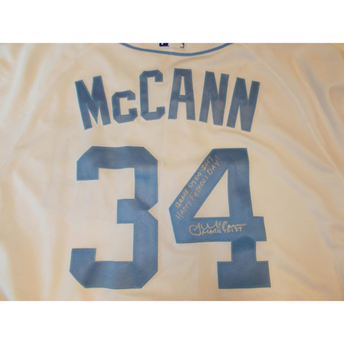 Autographed Game-Used Father's Day Jersey: James McCann