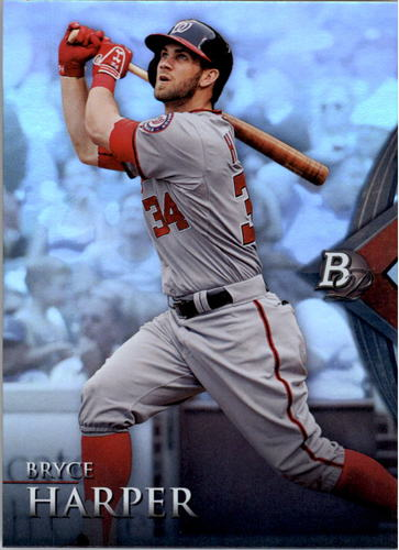 Photo of 2014 Bowman Platinum #40 Bryce Harper -- Nationals post-season