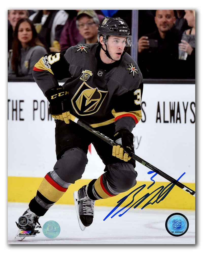 Brayden McNabb Vegas Golden Knights Autographed Inaugural Season 8x10 Photo