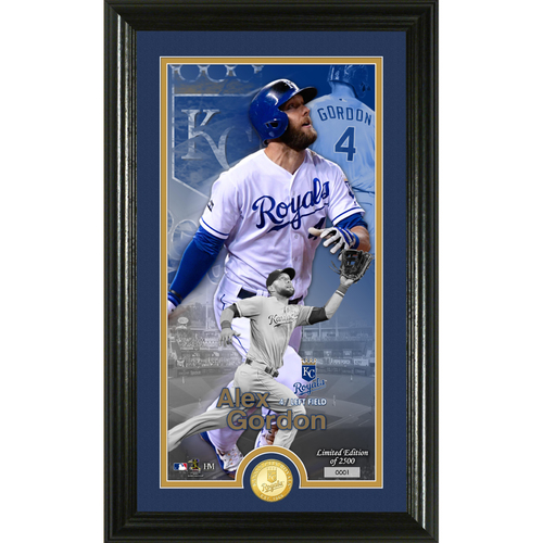 Photo of Alex Gordon Supreme Bronze Coin Photo Mint