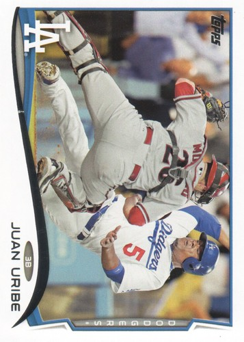 Photo of 2014 Topps #596 Juan Uribe