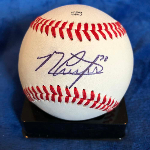 Photo of UMPS CARE AUCTION: Michael Conforto Signed Baseball