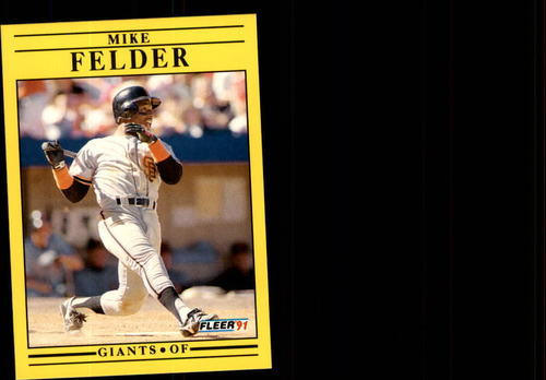 Photo of 1991 Fleer Update #129 Mike Felder