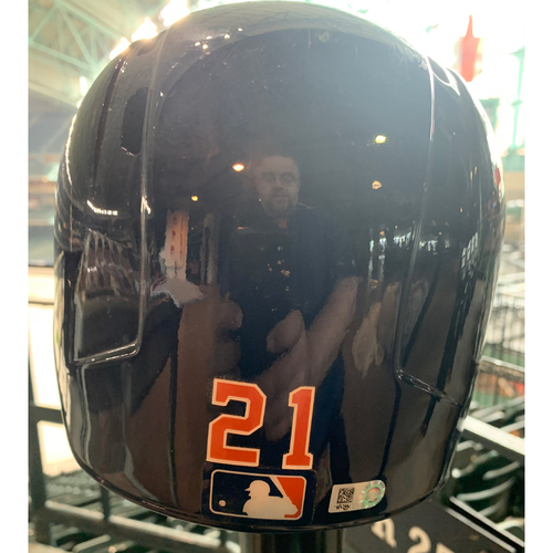 Photo of 2019 Houston Astros Team-Issued Batting Helmet #21 - Size 7 5/8