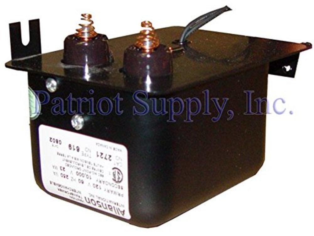 Photo of Allanson Oil Burner Ignition Transformer #2721-619