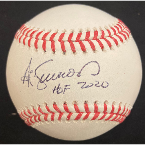 Photo of Cardinals Authentics: Ted Simmons Autographed Baseball with HOF Inscription