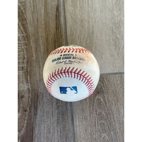 Photo of 6/1/19 Game-Used Baseball, Mets at D-backs: Jacob deGrom vs. Ildemaro Vargas (Singled, Adam Jones Scored on Throwing Error by Adeiny Hechavarria)