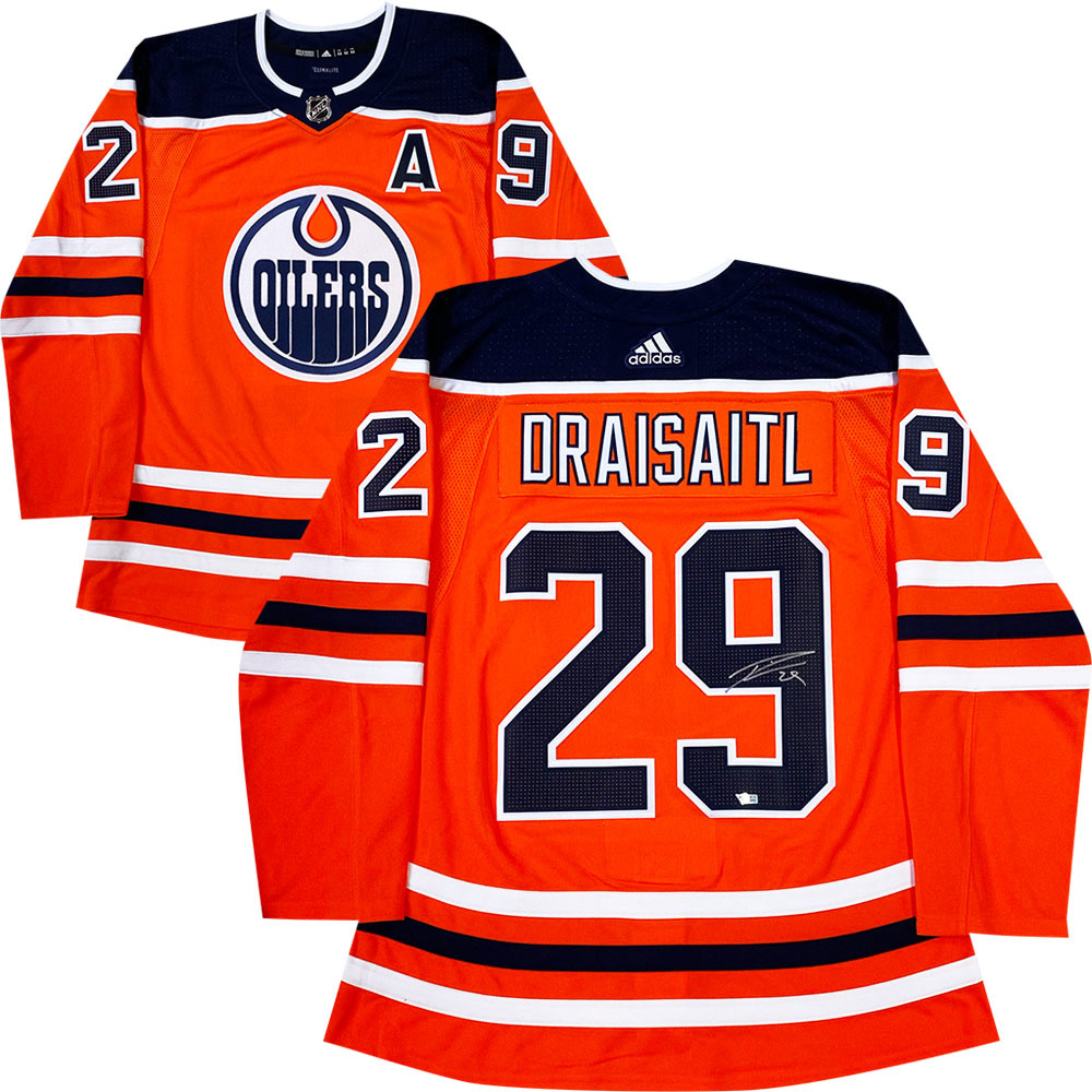 Leon Draisaitl Autographed Edmonton Oilers adidas Pro Jersey - Fanatics Authenticated