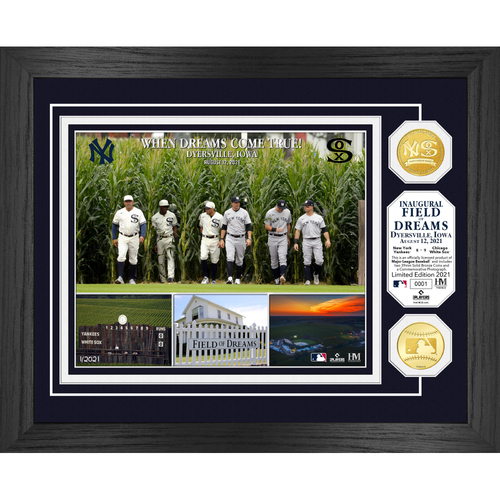 Photo of MLB Inaugural Field of Dreams Bronze Coin Photo Mint