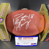 NFL - Broncos Peyton Manning Signed Authentic Football