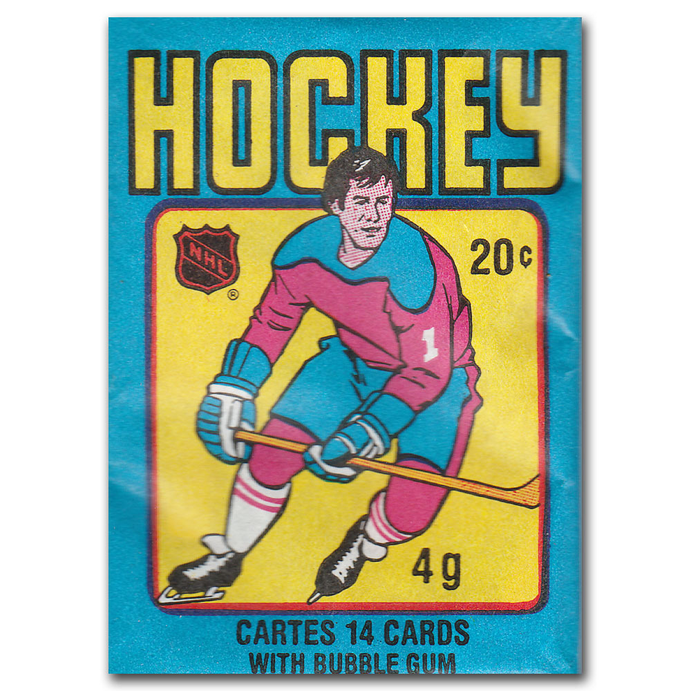 Unopened 1979 80 O Pee Chee Wax Pack Gretzky Rookie Card