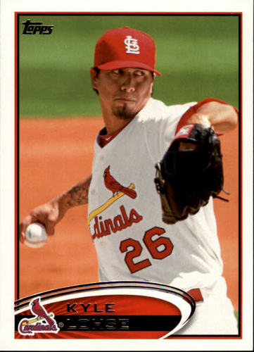 Photo of 2012 Topps #26 Kyle Lohse