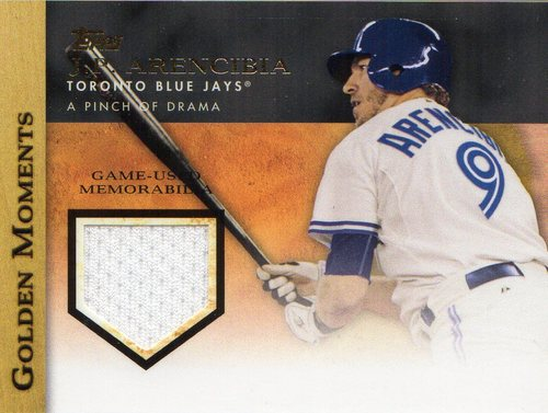 Photo of 2012 Topps Golden Moments Relics #JA J.P. Arencibia S2