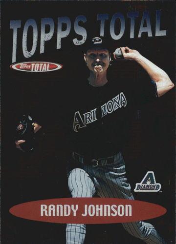 Photo of 2002 Topps Total Topps #TT26 Randy Johnson
