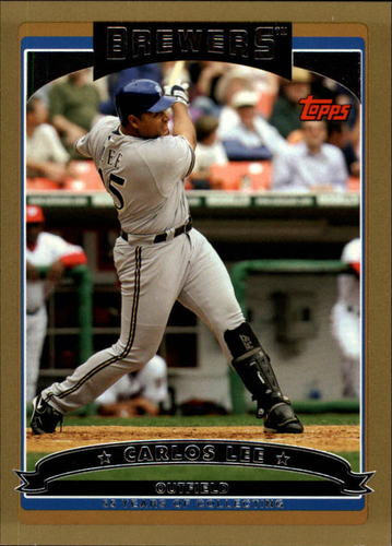 Photo of 2006 Topps Gold #70 Carlos Lee