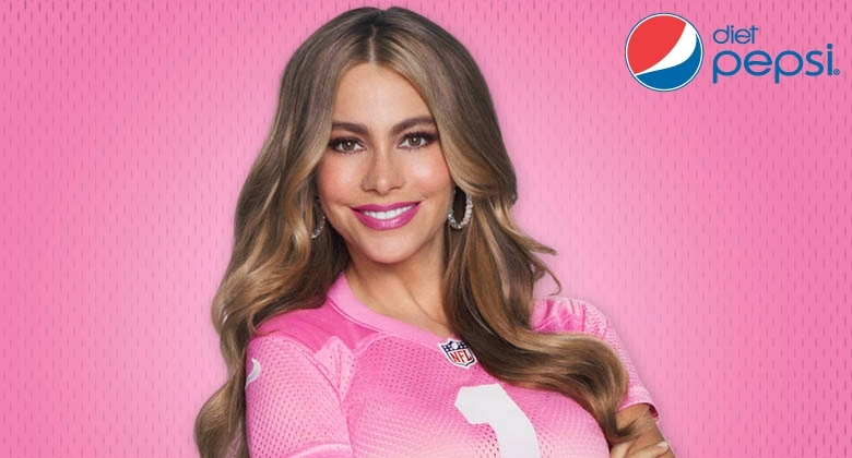 DIET PEPSI COLLECTION - NFL Suite Experience including an apperance by Sofia Vergara