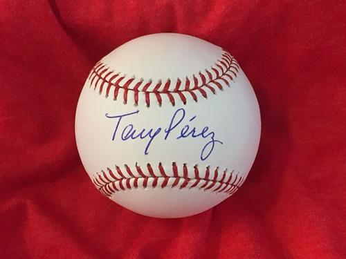 Tony Perez Autographed Baseball