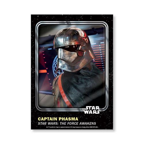 Captain Phasma 2016 Star Wars Card Trader Base Poster - # to 99