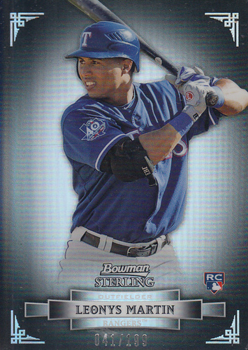 Photo of 2012 Bowman Sterling Refractors #7 Leonys Martin
