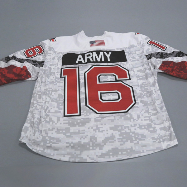 "Photo of Ohio State Ice Hockey Military Appreciation Jersey #16 ""Army"" / Size 56"