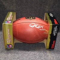 HOF - REDSKINS DARRELL GREEN SIGNED AUTHENTIC FOOTBALL