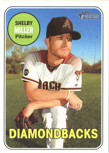 Photo of 2018 Topps Heritage #389 Shelby Miller