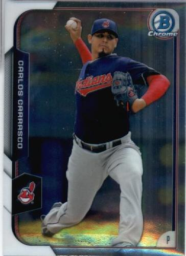 Photo of 2015 Bowman Chrome #23 Carlos Carrasco