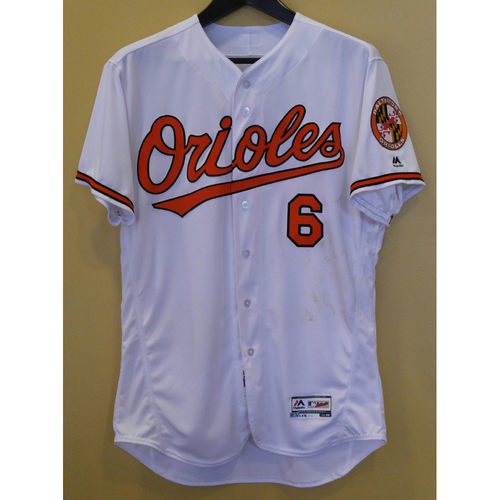 Photo of Jonathan Schoop - Opening Day Jersey: Game-Used