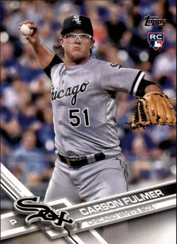 Photo of 2017 Topps #33 Carson Fulmer Rookie Card
