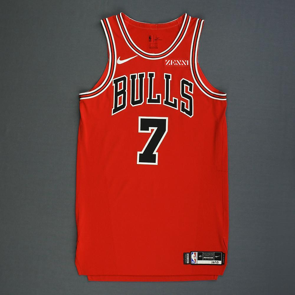 Nba Christmas Jerseys 2018 19.Justin Holiday Chicago Bulls Mexico Games Game Worn
