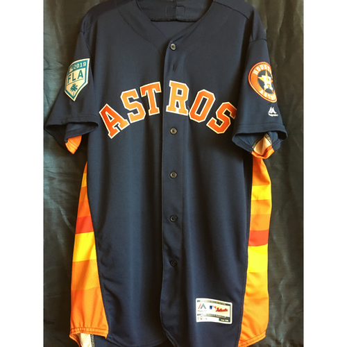 Photo of Houston Astros Team-Issued Spring Training Jersey #91