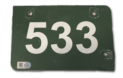 Photo of Wrigley Field Collection -- Aisle Marker 533 -- Removed after 2018 Season