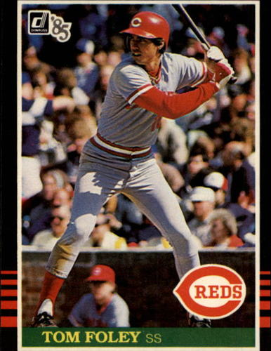 Photo of 1985 Donruss #569 Tom Foley