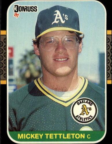 Photo of 1987 Donruss #349 Mickey Tettleton