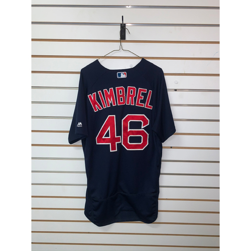 Photo of Craig Kimbrel Game-Used July 20, 2018 Road Alternate Jersey - 31st Save of the Season