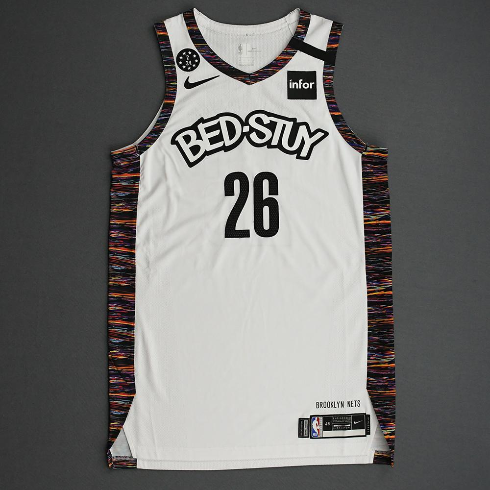 Spencer Dinwiddie - Brooklyn Nets - 2020 Taco Bell Skills Challenge - Event-Worn City Edition Jersey