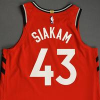 Pascal Siakam - Toronto Raptors - Game-Worn Icon Edition Jersey - NBA Japan Games - 2019-20 NBA Season
