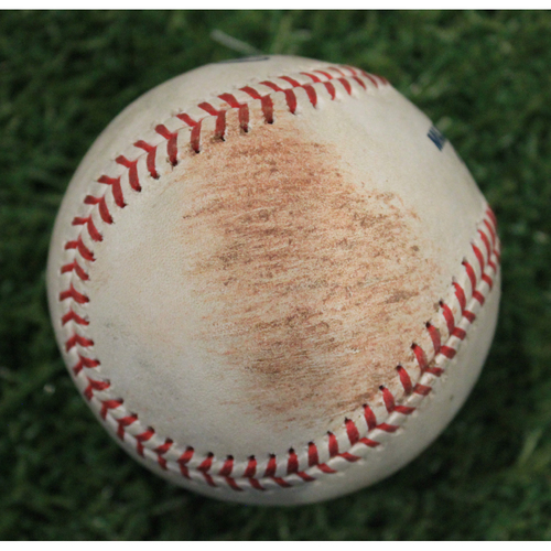 Photo of Game-Used 50 Seasons Baseball: (9/14/18 MIN @ KC)