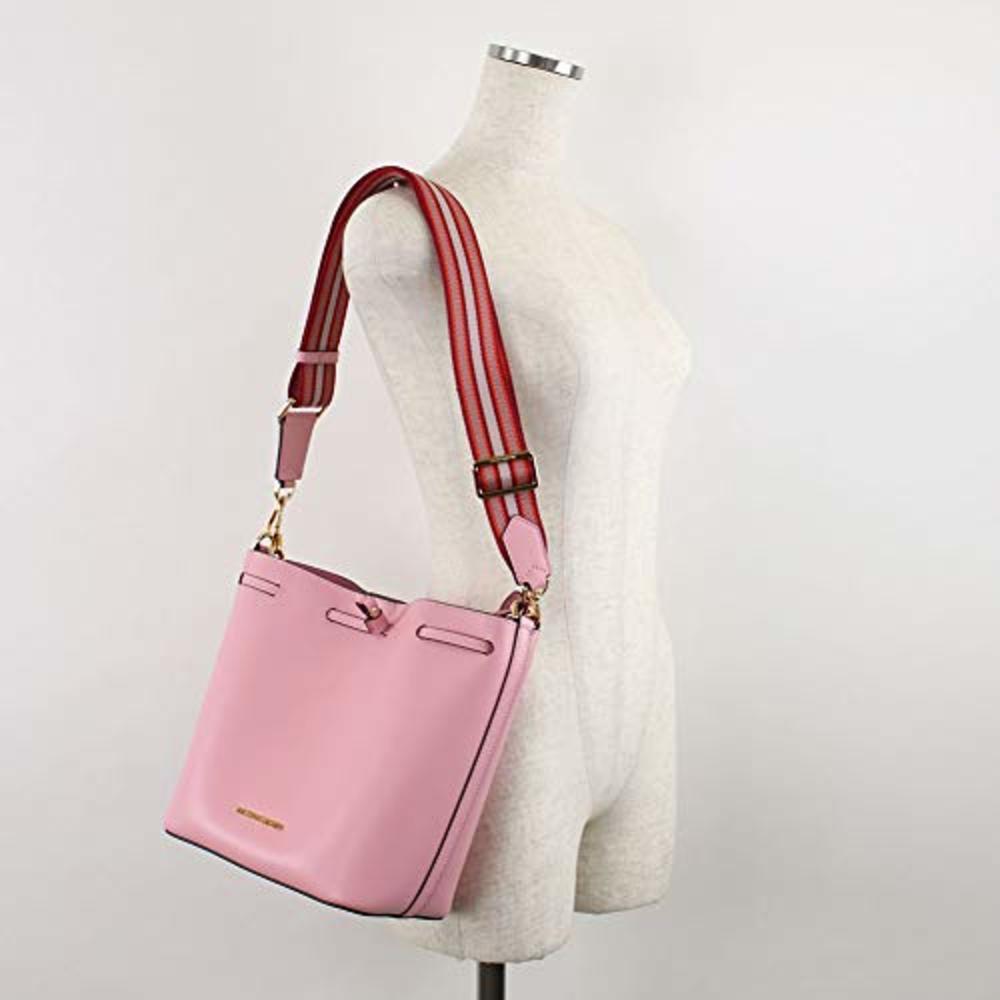 Photo of Michael Kors Eden Medium Bucket Leather Shoulder Bag
