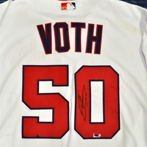 Photo of Washington Nationals Philanthropies Jerseys Off Their Back Auction - Austin Voth - Autographed Game-Used Jersey - Size 44