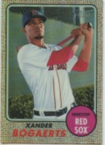 Photo of 2017 Topps Heritage Chrome Refractors #THC441 Xander Bogaerts